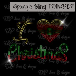 I Love Christmas-SPANGLE