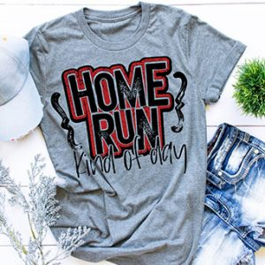Home Run Kind of Day Graphic Tee