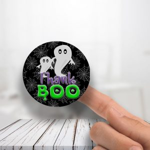 Thank Boo Stickers