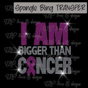 I am Bigger than Cancer-SPANGLE