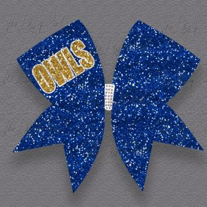 Custom Team Odem Glitter Cheer Hair Bow