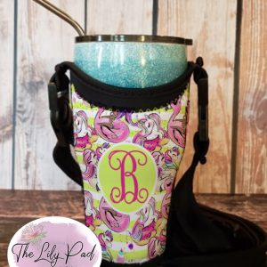 Tumbler Totes with Personalization-Summer Floating