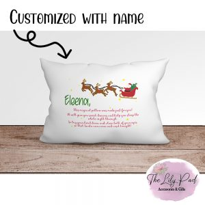Magical Pillow Christmas Personalized Pillowcase