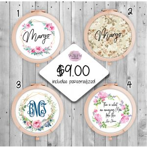 Compact Mirrors fully customized