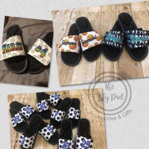 Custom Sport Sandal-Slides Cierra