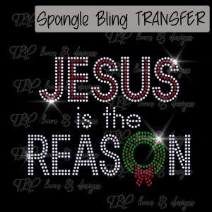 Jesus is the Reason Wreath-SPANGLE