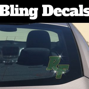 Rockport Fulton Bling Decal
