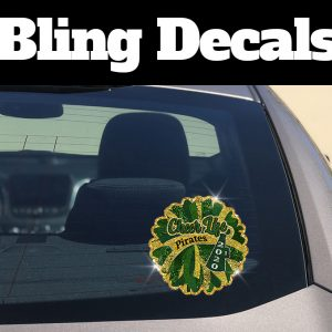 Rockport Fulton Cheer Bling Decal