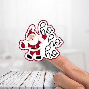 Santa Ho Ho Ho Stickers