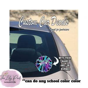 Custom Cheer Life-Full Color Decal Sticker