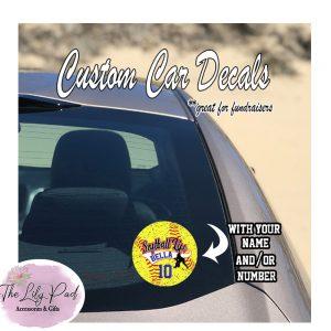 Custom Sport Life-Full Color Sport Decal Sticker