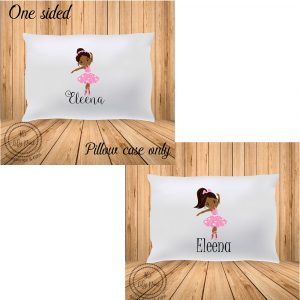 Ballerina-AfricanAmerican Personalized Pillowcase