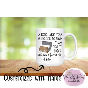A Boss Like You is Harder to Find-Ceramic Mug with Name