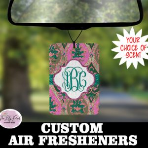 Bungalo Pinks Personalized Air Freshener