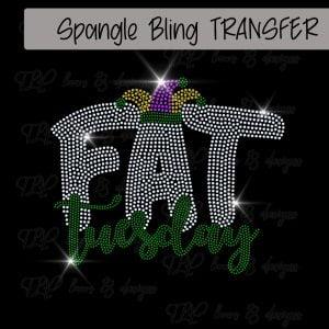 Fat Tuesday Mardi Gras-SPANGLE