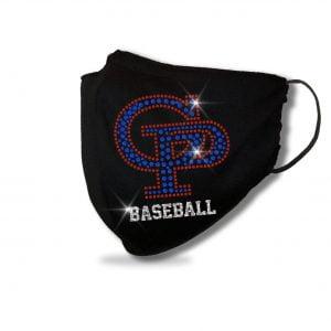 GP Baseball Spangle & Glitter Bling Mask
