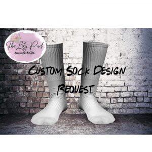 Custom Crew Style Printed Socks