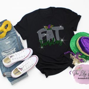 Fat Tuesday Spangle Bling Tee