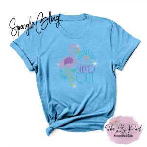 Born to Stand Out Spangle Bling Tee