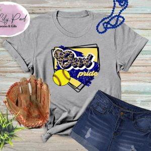 Owl HomePlate Softball Cheetah Graphic Tee