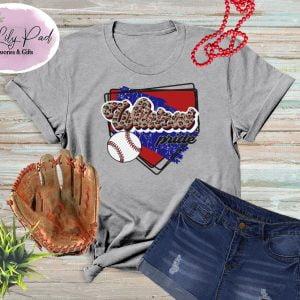 Wildcat HomePlate Baseball Cheetah Graphic Tee
