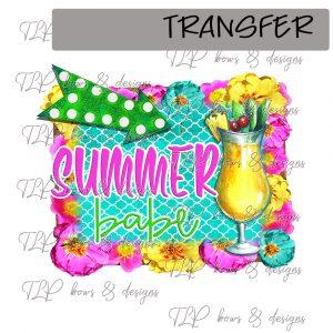 Summer Babe Vibrant -Transfer