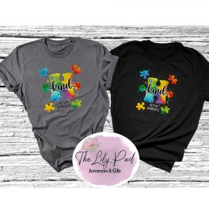 Be Kind Puzzle Paint Splatter Graphic Tee