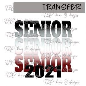 Senior Ombre Maroon Black 2021 -Transfer