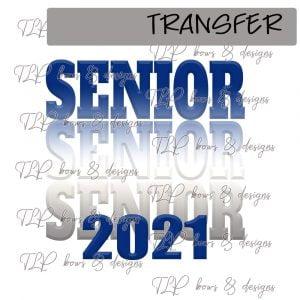 Senior Ombre Blue White 2021 -Transfer