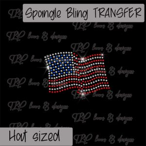 American Flag Hat Size -SPANGLE