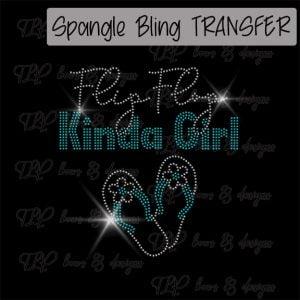 Flip Flop Kinda Girl -SPANGLE