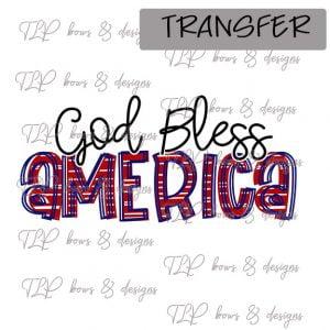 God Bless America-Transfer