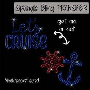 Let's Cruise Anchor Wheel -SPANGLE