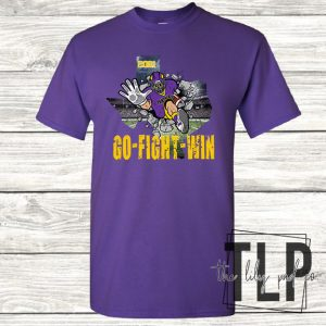 AP Panthers Football Breakout Graphic Tee
