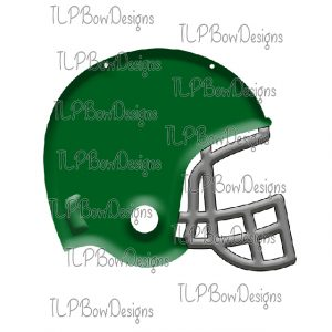 Grey with Green Helmet Sublimation Printable File