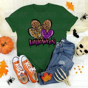 Heart Trio Halloween DTF Transfer