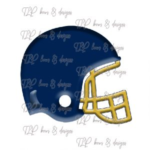 Navy with Gold Helmet Sublimation Printable File