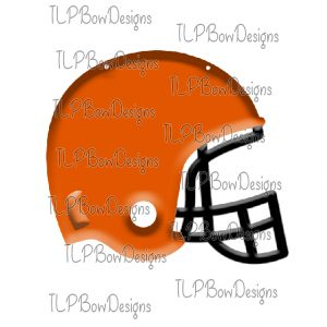 Black with Orange Helmet Sublimation Printable File