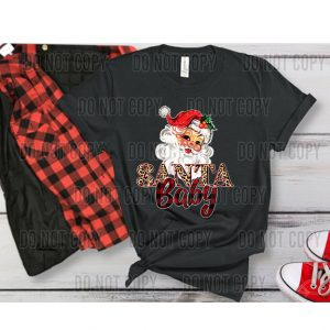 Santa Baby DTF Transfer