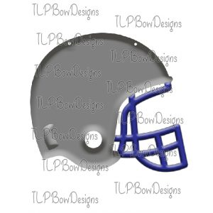 Grey with Blue Helmet Sublimation Printable File